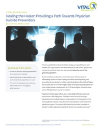 Article-Healing the Healer-Providing a Path Towards Physician Suicide Prevention-1